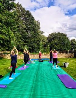 Yoga Outdoors 2